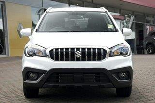 2021 Suzuki S-Cross JY Turbo Prestige White 6 Speed Sports Automatic Hatchback
