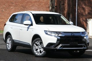 2020 Mitsubishi Outlander ZL MY21 ES 5 Seat (2WD) Starlight 6 Speed CVT Auto Sequential Wagon.