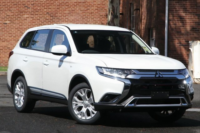New Mitsubishi Outlander ZL MY21 ES 2WD Hamilton, 2021 Mitsubishi Outlander ZL MY21 ES 2WD Starlight 6 Speed Constant Variable Wagon