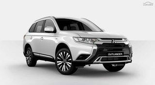 2019 Mitsubishi Outlander ZL MY20 ES 2WD White 5 Speed Manual Wagon.