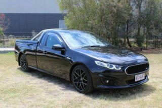 2015 Ford Falcon FG X XR6 Super Cab Black 6 Speed Sports Automatic Cab Chassis