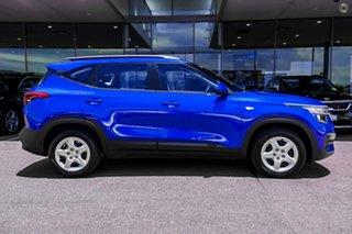 2020 Kia Seltos SP2 MY21 S 2WD Blue 1 Speed Constant Variable Wagon