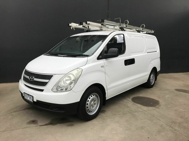 Used Hyundai iLOAD TQ Fawkner, 2008 Hyundai iLOAD TQ White 5 Speed Manual Van