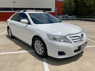 2009 Toyota Camry ACV40R 07 Upgrade Altise White 5 Speed Automatic Sedan.