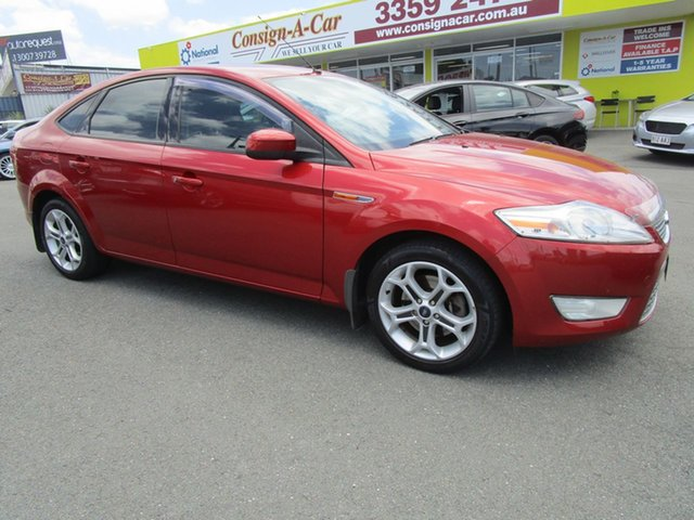 Used Ford Mondeo MA TDCi Kedron, 2007 Ford Mondeo MA TDCi Orange 6 Speed Sports Automatic Hatchback