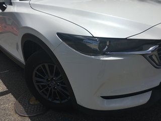 2020 Mazda CX-8 KG2WLA Sport SKYACTIV-Drive FWD White Pearl 6 Speed Sports Automatic Wagon.