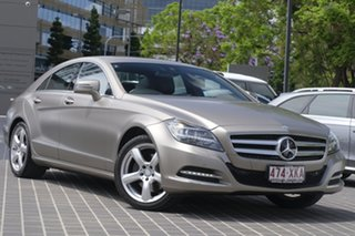 2013 Mercedes-Benz CLS-Class C218 MY13.5 CLS350 Coupe 7G-Tronic + Grey 7 Speed Sports Automatic.