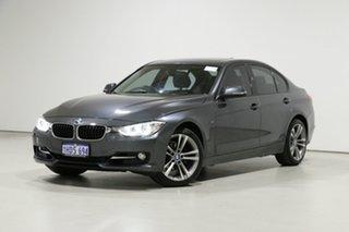 2013 BMW 320i F30 Sport Line Grey 8 Speed Automatic Sedan.