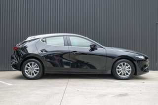 2020 Mazda 3 BP2H76 G20 SKYACTIV-MT Pure Jet Black 6 Speed Manual Hatchback.
