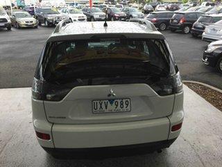 2006 Mitsubishi Outlander ZG LS White 6 Speed CVT Auto Sequential Wagon