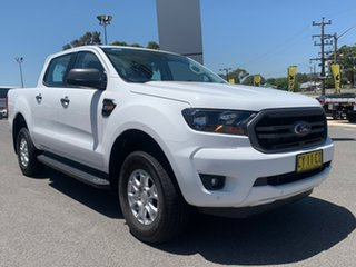 2020 Ford Ranger XLS Arctic White Sports Automatic Dual Cab Utility.