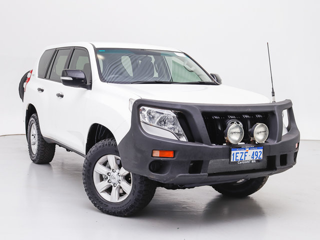 Used Toyota Landcruiser Prado GDJ150R MY16 GX (4x4), 2015 Toyota Landcruiser Prado GDJ150R MY16 GX (4x4) White 6 Speed Manual Wagon