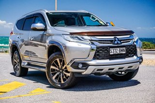 2016 Mitsubishi Pajero Sport QE MY16 Exceed Silver 8 Speed Sports Automatic Wagon.