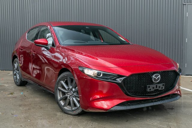 Demo Mazda 3 BP2HLA G25 SKYACTIV-Drive GT Mornington, 2020 Mazda 3 BP2HLA G25 SKYACTIV-Drive GT Soul Red Crystal 6 Speed Sports Automatic Hatchback