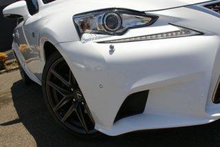 2013 Lexus IS AVE30R IS300h F Sport White 1 Speed Constant Variable Sedan Hybrid.