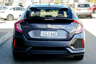 2017 Honda Civic 10th Gen MY17 VTi-LX Grey 1 Speed Constant Variable Hatchback