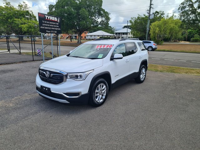 New Holden Acadia AC MY19 LT Ingham, Holden Acadia AC MY19 LT Summit White 6 Speed Automatic Wagon