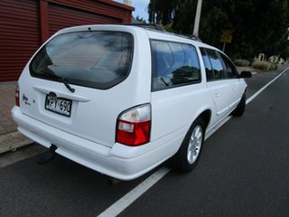 2001 Ford Falcon AUII Futura White 4 Speed Automatic Wagon