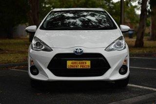 2015 Toyota Prius c NHP10R i-Tech E-CVT White 1 Speed Constant Variable Hatchback Hybrid.