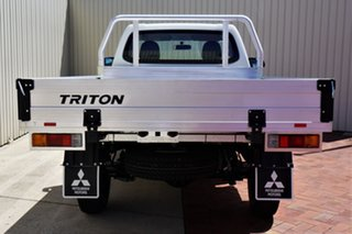 2020 Mitsubishi Triton MR MY20 GLX White 5 Speed Manual Cab Chassis