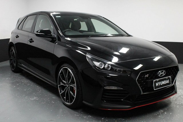 Used Hyundai i30 PDe.2 MY19 N Performance Hamilton, 2019 Hyundai i30 PDe.2 MY19 N Performance Black 6 Speed Manual Hatchback