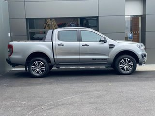 2020 Ford Ranger PX MkIII 2020.25MY Wildtrak Silver 10 Speed Sports Automatic Double Cab Pick Up