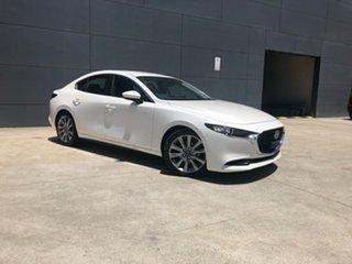 2020 Mazda 3 BP2S7A G20 SKYACTIV-Drive Evolve Snowflake White 6 Speed Sports Automatic Sedan.