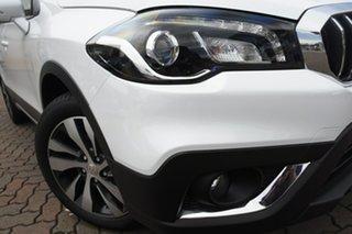 2021 Suzuki S-Cross JY Turbo Prestige White 6 Speed Sports Automatic Hatchback.