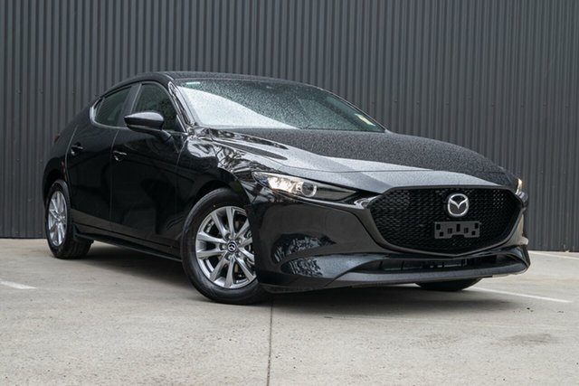 New Mazda 3 BP2H76 G20 SKYACTIV-MT Pure Mornington, 2020 Mazda 3 BP2H76 G20 SKYACTIV-MT Pure Jet Black 6 Speed Manual Hatchback