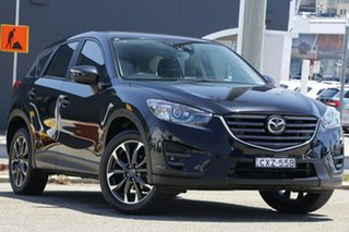2015 Mazda CX-5 KE1032 Akera SKYACTIV-Drive AWD Black 6 Speed Sports Automatic Wagon.