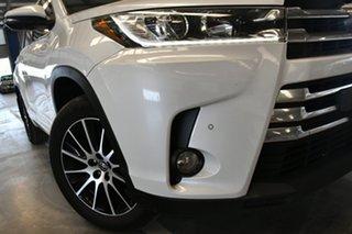 2017 Toyota Kluger GSU50R Grande (4x2) Crystal Pearl 6 Speed Automatic Wagon.