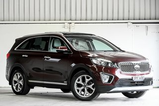 2017 Kia Sorento UM MY17 Platinum AWD Red 6 Speed Sports Automatic Wagon.