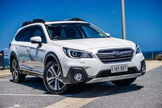 2018 Subaru Outback B6A MY18 3.6R CVT AWD White 6 Speed Constant Variable Wagon.