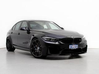 2017 BMW M3 F80 LCI MY17 Competition Black 7 Speed Auto Dual Clutch Sedan.