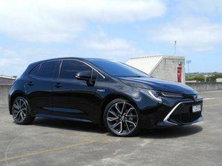 2019 Toyota Corolla ZWE211R ZR E-CVT Hybrid Black 10 Speed Constant Variable Hatchback Hybrid.