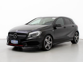 2014 Mercedes-Benz A250 176 Sport Black 7 Speed Automatic Hatchback.