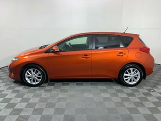 2015 Toyota Corolla ZRE182R Ascent Sport S-CVT Orange 7 Speed Constant Variable Hatchback