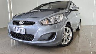 2018 Hyundai Accent RB6 MY19 Sport Silver 6 Speed Sports Automatic Hatchback.