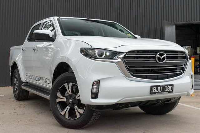 New Mazda BT-50 Mornington, 2020 Mazda BT-50 BT-50 B 6AUTO 3.0L DUAL CAB PICKUP XTR 4X4 Ice White Crewcab