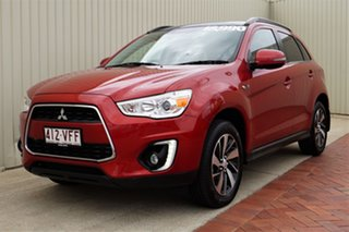 2014 Mitsubishi ASX XB MY14 Aspire 2WD Red 6 Speed Constant Variable Wagon