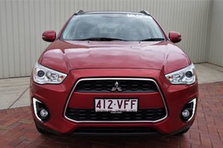 2014 Mitsubishi ASX XB MY14 Aspire 2WD Red 6 Speed Constant Variable Wagon.