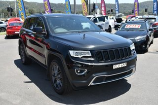 2017 Jeep Grand Cherokee WK MY17 Limited Black 8 Speed Sports Automatic Wagon.