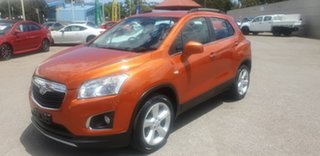 2016 Holden Trax TJ MY16 LTZ Orange 6 Speed Automatic Wagon