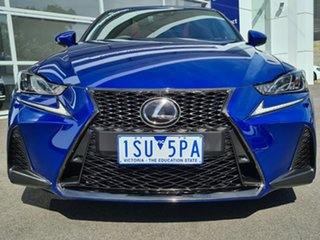 2018 Lexus IS GSE31R IS350 F Sport Blue 8 Speed Sports Automatic Sedan