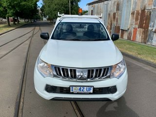 2015 Mitsubishi Triton MN MY15 GL 4x2 White 5 Speed Manual Cab Chassis.