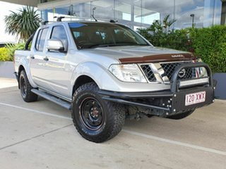 2013 Nissan Navara ST Silver 5 Speed Automatic Dual Cab.