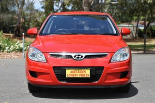2007 Hyundai i30 FD SX Red 4 Speed Automatic Hatchback.