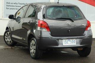 2011 Toyota Yaris NCP91R MY11 YRS Grey 5 Speed Manual Hatchback.