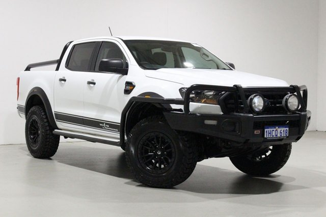 Used Ford Ranger PX MkII MY18 XL 3.2 (4x4) Bentley, 2018 Ford Ranger PX MkII MY18 XL 3.2 (4x4) White 6 Speed Manual Crew Cab Utility
