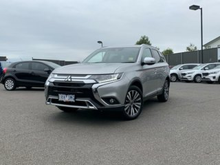 2019 Mitsubishi Outlander ZL MY20 LS 2WD Billet Silver 6 Speed Constant Variable Wagon.